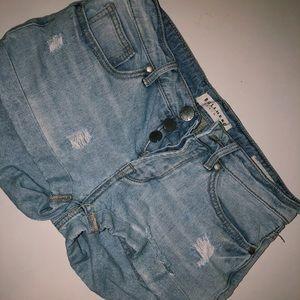 PacSun Lightwash Shorts